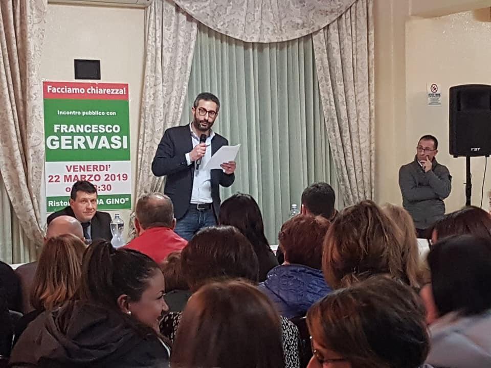 Francesco Gervasi incontra i cittadini provenienti da tutti i quartieri e le frazioni di Mendicino