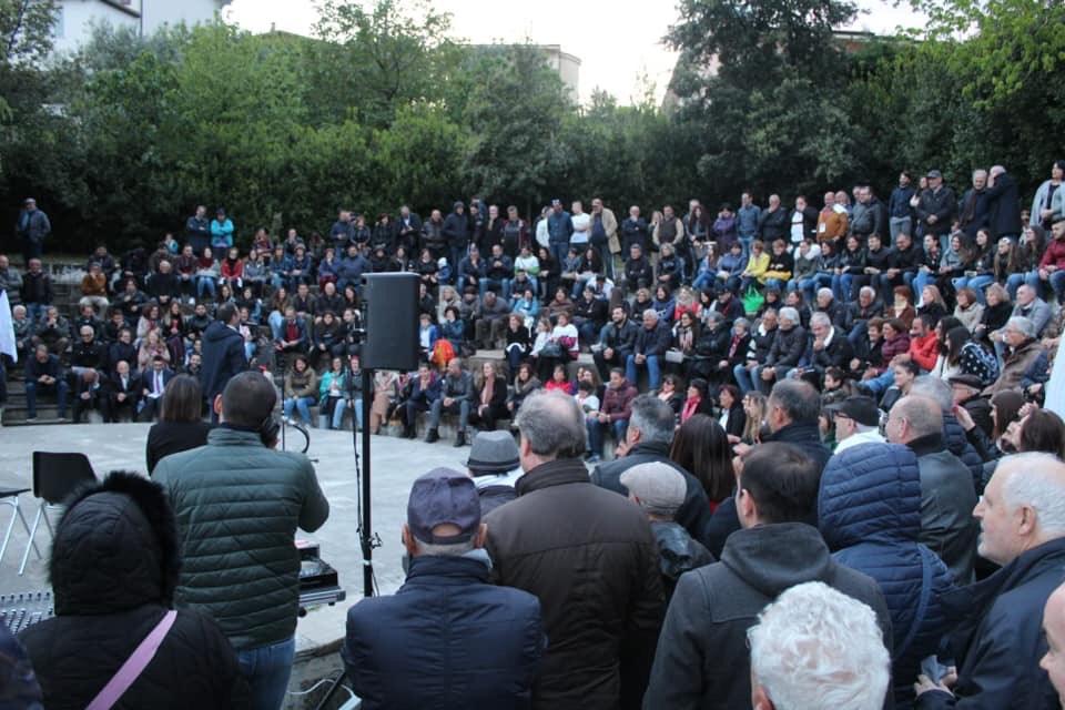 Standing ovation per Francesco Gervasi e la sua squadra