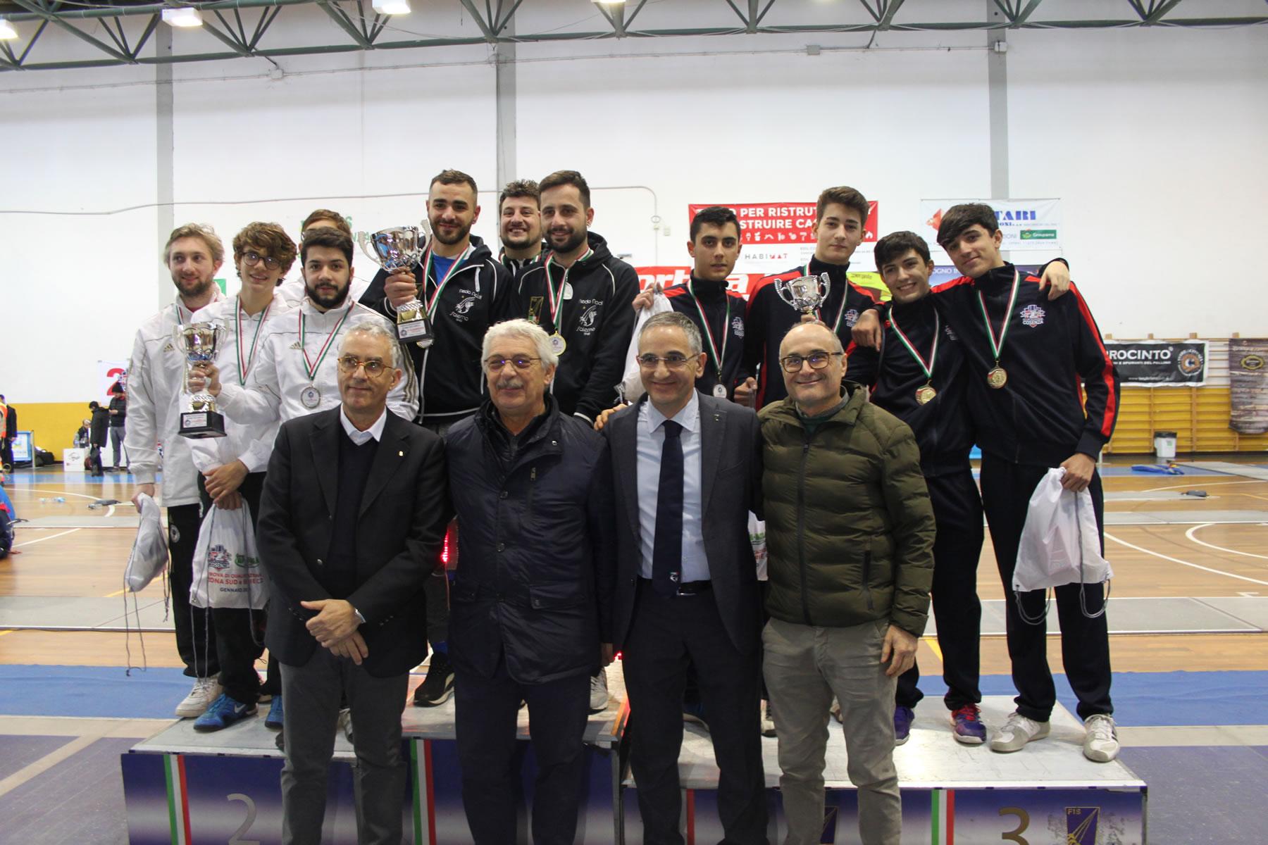 A Rende la prova Zona Sud di fioretto e sciabola e il Campionato a squadre Serie C2 di spada