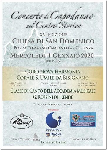 XXI Edizione del Concerto di Capodanno nel Centro Storico