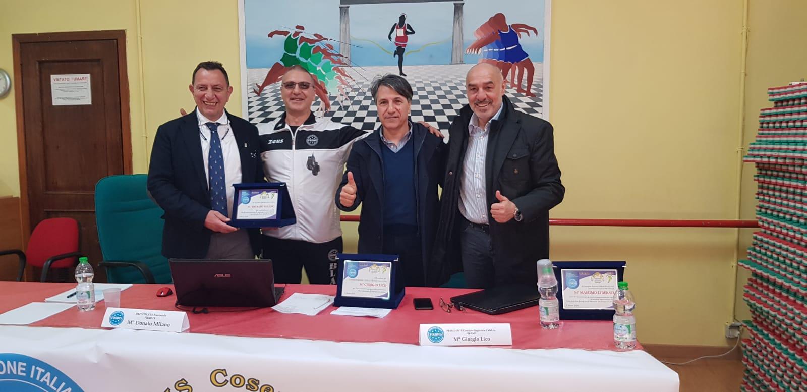 La Dirigenza Nazionale FIKBMS incontra il territorio CALABRIA presso il CUS Cosenza