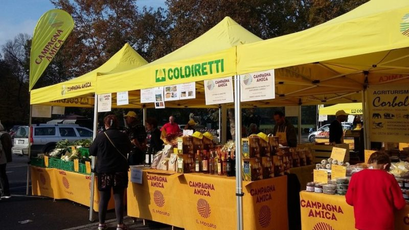 Coldiretti Calabria: inaugurato a Mendicino il mercato contadino all'aperto di Campagna Amica