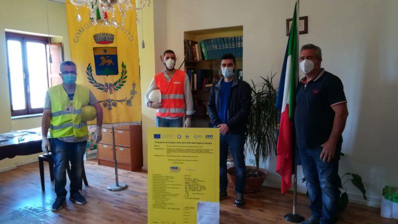 Rovito: avviati i lavori per la Banda Ultra Larga a Bosco