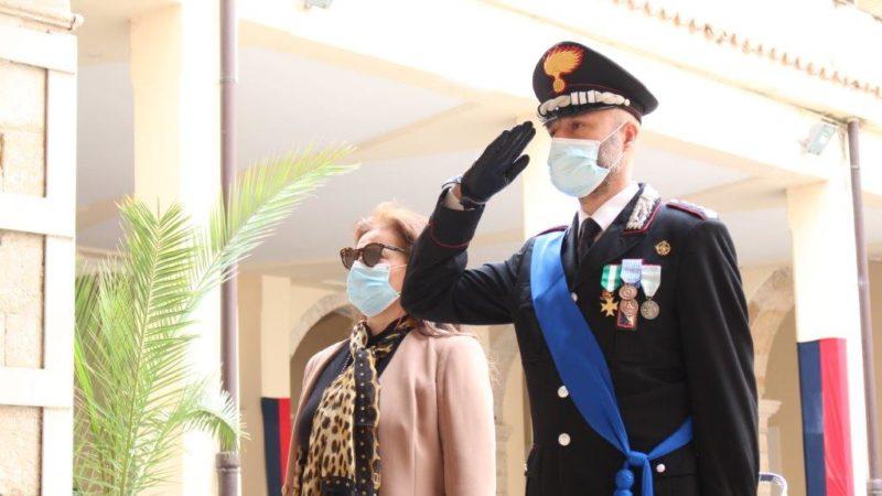 Cosenza, 206° annuale della Fondazione dell'Arma dei Carabinieri.