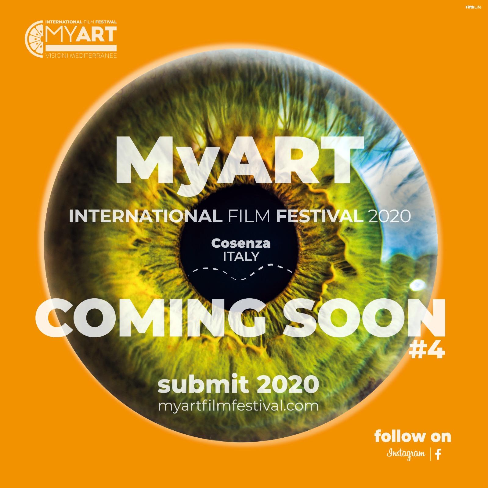 Cosenza, aperte le iscrizioni MyArt 2020