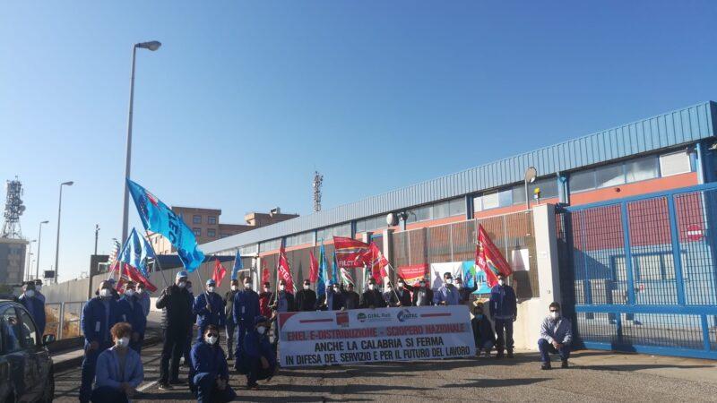 Massiccia partecipazione allo sciopero in Enel E-Distribuzione