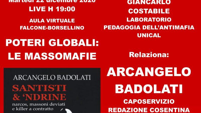 Unical, le ramificazioni della masso-'ndrangheta a livello globale nella relazione di Arcangelo Badolati