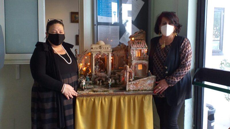 Presepe dell'Istituto comprensivo Crosia all'Usr Calabria