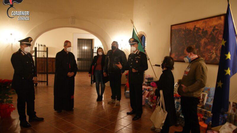 I Carabinieri del Comando Provinciale di Cosenza hanno voluto manifestare la loro vicinanza e la generosa solidarietà ai cittadini