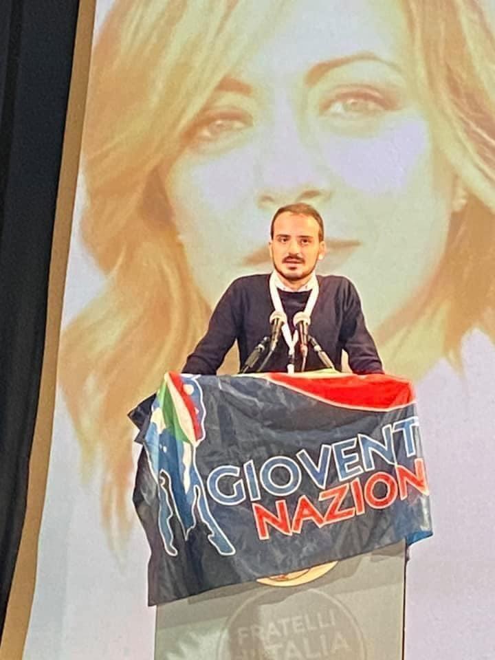 Gioventù Nazionale: Nicola Caruso nominato nell'esecutivo nazionale