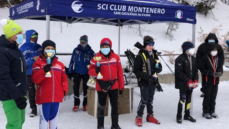XXV Coppa Terranova di Pollino, prime medaglie nello sci nordico