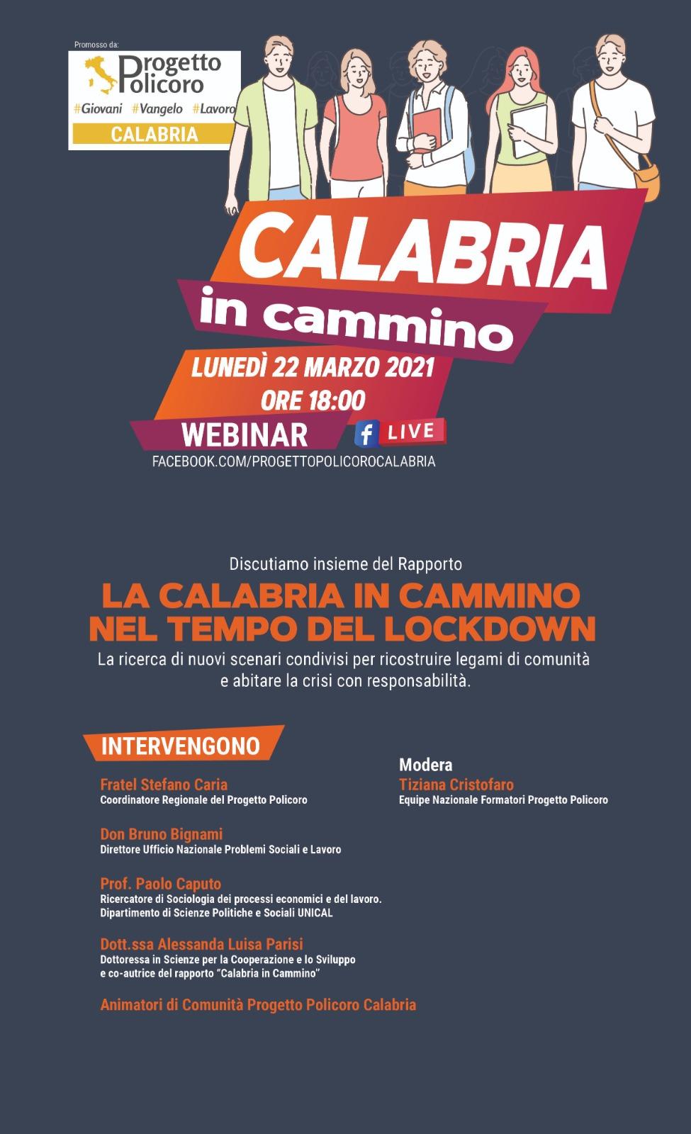 Calabria in cammino, presentato il report di Progetto Policoro Calabria
