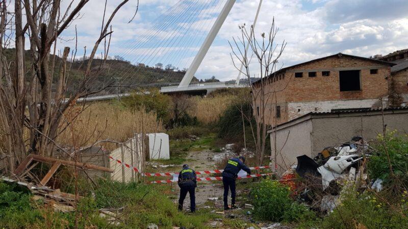 Polizia provinciale sequestra un'area di circa 1.600 mq a Cosenza