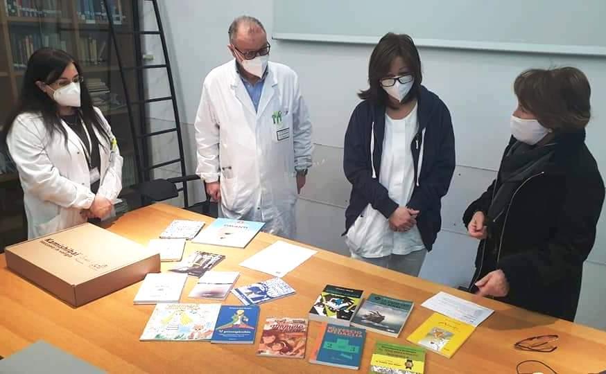 """Confluenze promuove """"La lettura cura …. La lettura libera"""" per tutti i bambini ospedalizzati e per la rieducazione del detenuto"""
