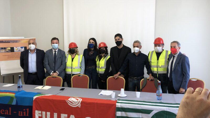Sicurezza sul lavoro: la conferenza stampa di Cgil Cisl Uil Calabria