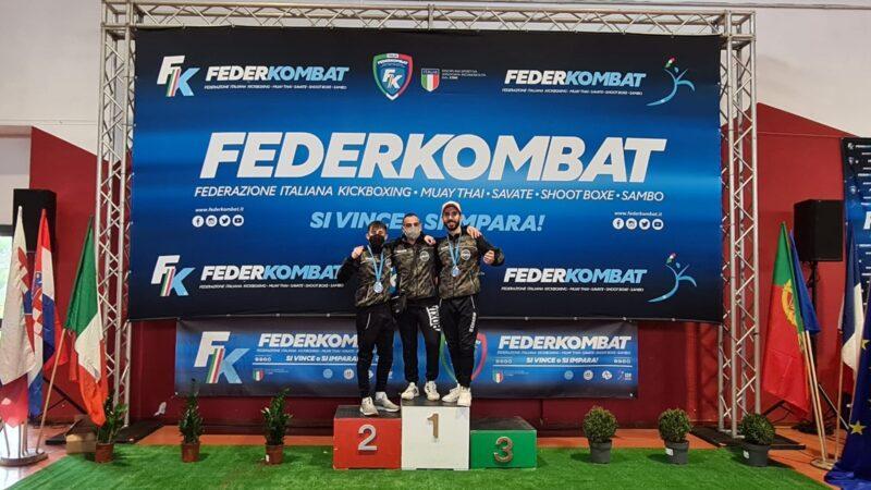 Kickboxing,  la Calabria ai Campionati Italiani Assoluti di Roma