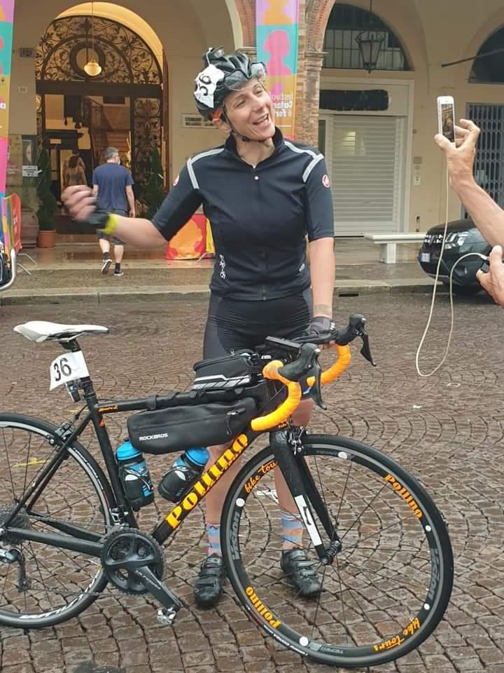 Lucia Minervino al Romagna Ultra Race