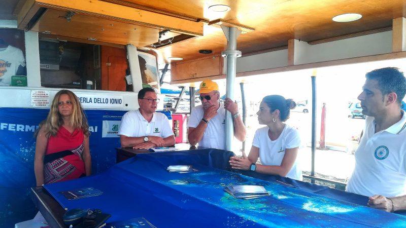 Goletta Verde dedica un incontro all'Area Marina Protetta Capo Rizzuto