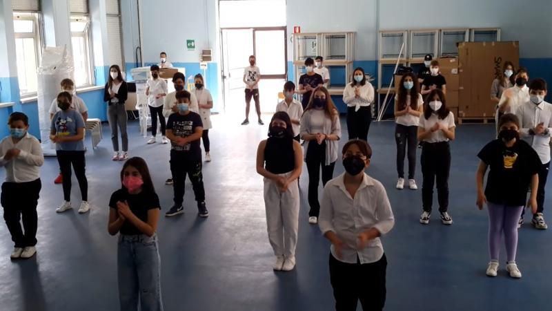 Body percussion a scuola, interessati gli studenti del Comprensivo Mandatoriccio