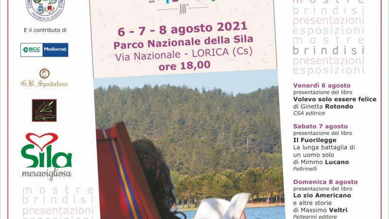 Con l'edizione 2021 Lorica Libro Amica taglia il traguardo del decimo anno