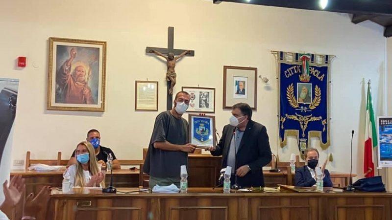"""Gregorio Paltrinieri ha scelto il mare della Calabria per dar vita ad un progetto sportivo denominato """"Dominate The Water"""""""