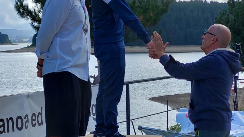 Dominate THE AQA: le acque del Lago Arvo si sono riempite di nuova linfa