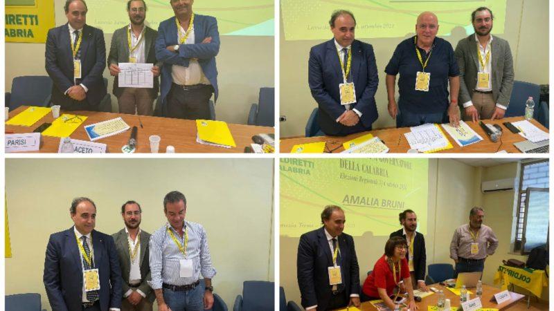 Coldiretti Calabria ha incontrato i quattro candidati presidenti di Regione