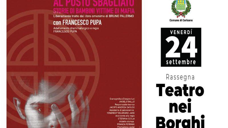 """""""TEATRO NEI BORGHI"""" il nuovo format targato L'ALTROTEATRO"""