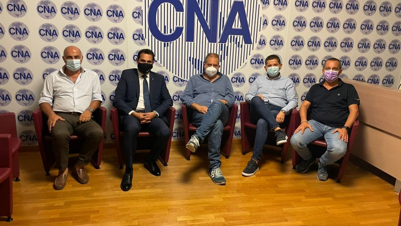CNA di Cosenza incontra il candidato al Consiglio regionale Luigi Lirangi