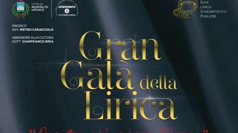 """Montalto Uffugo (CS): Successo per il """"Gran Galà della Lirica"""", uno degli eventi più raffinati ed esclusivi di fine estate in Calabria"""