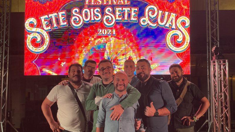 Successo per il doppio live al Festival Sete Sóis Sete Luas promosso grazie a Calabria Sona