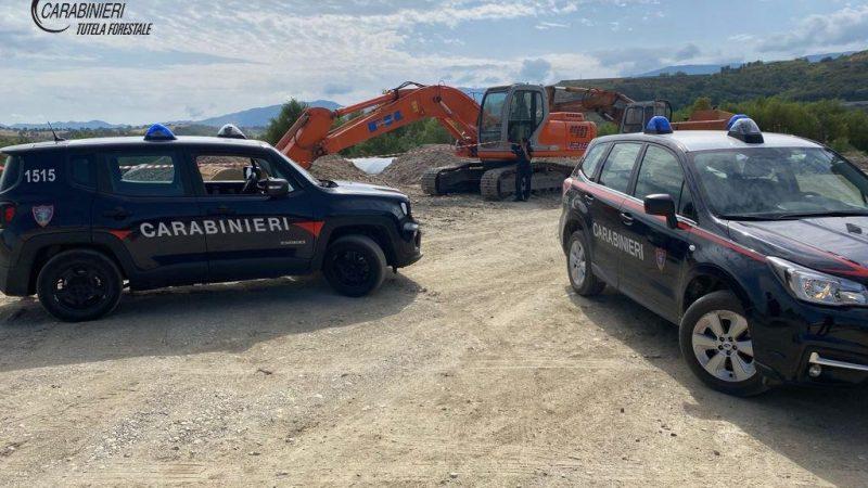Bisignano: furto di materiale nel fiume Crati. Due arresti